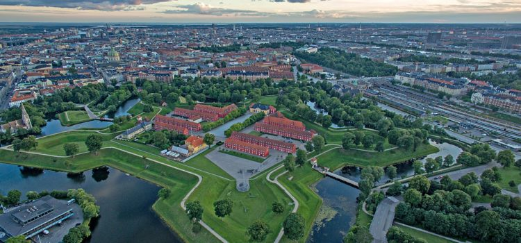 Крепость Кастеллет в Копенгагене (из серии «Будущее Охтинского мыса»)