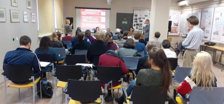 Пресс-конференция «Будущее памятников Охтинского мыса»